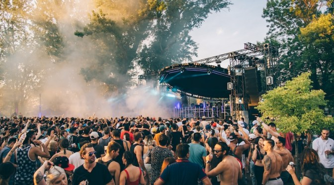 Electric Island season opener on Toronto Islands