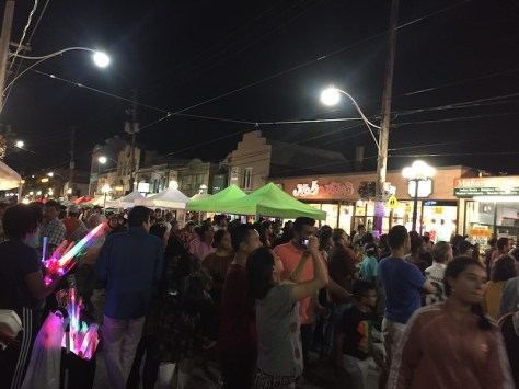 Festival of South Asia crowd on Gerrard St.