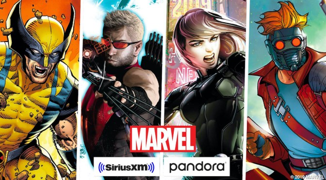 Marvel boldly enters into sweeping podcast deal with SiriusXM and Pandora