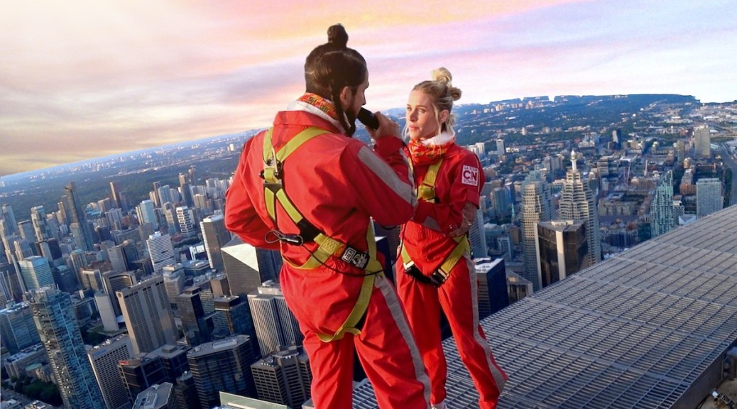 Walk Off the Earth on the edge of the CN Tower