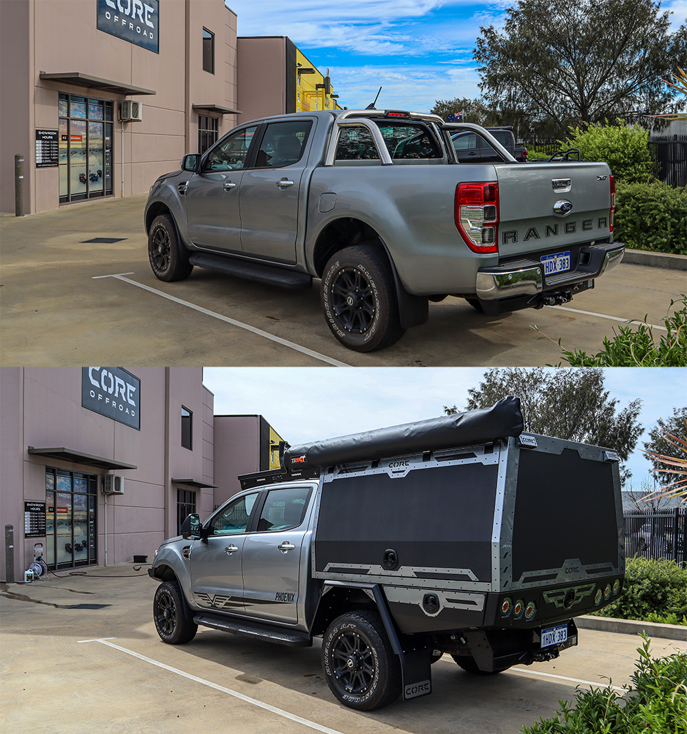You are currently viewing Ford Ranger XLT with GT Canopy – Amazing Transformation