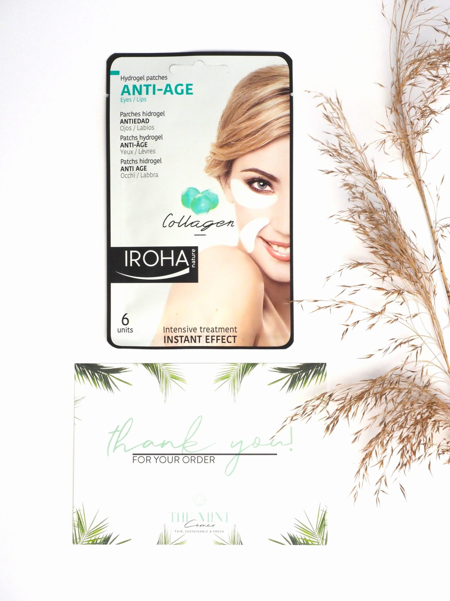 Iroha Nature Intensive Hydrogel-Anti-Aging-Patches