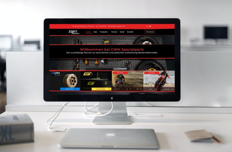 CWM Specialparts Website by Patrick Piper