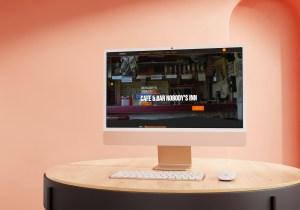 Nobodys Inn Jenbach Website by Patrick Piper Coretecs Creative Netzwerk Tirol