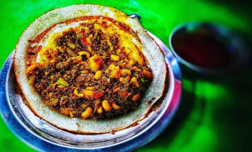 Nepalese food - Chatamari