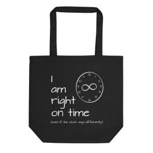 eco tote bag black front 60202aa2e8844