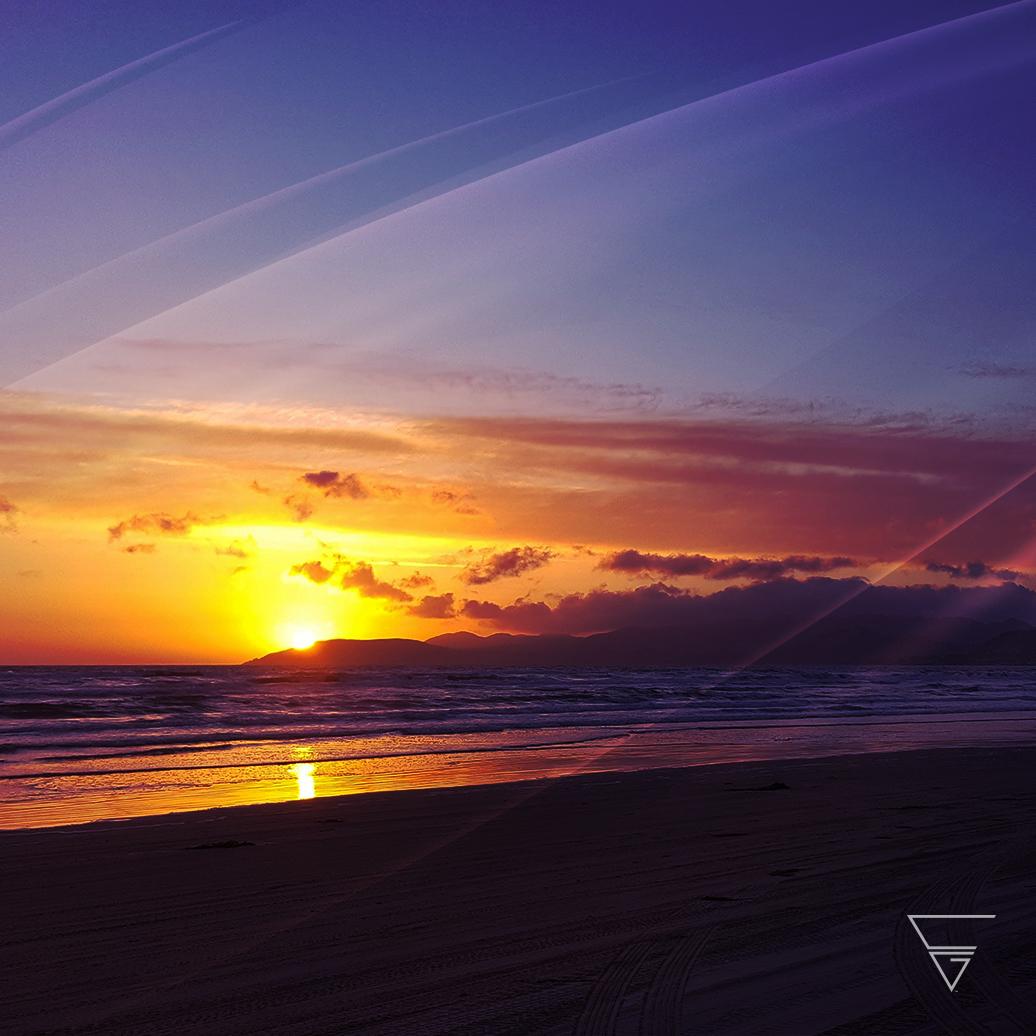 Corey Gott sunset meditation cover art