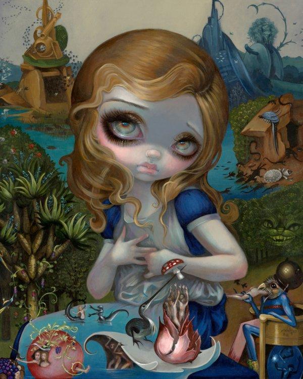 Jasmine Becket-Griffith Art Alice in Wonderland