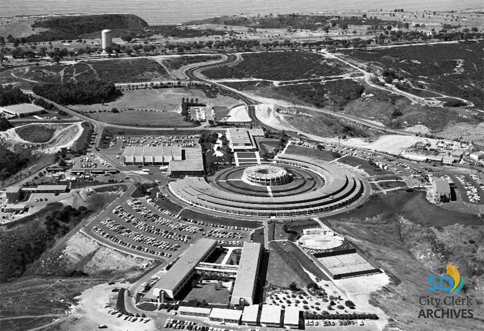 General Atomics Campus Aerial Photograph 1967