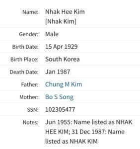 Nhak Hee Kim