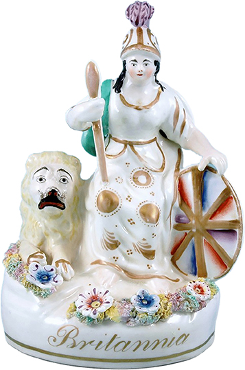 Staffordshire Figurine of Britannia