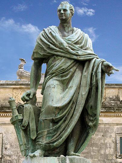 Statue of Sir Frederick Adam