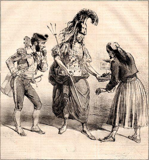 Le Charivari – News 161, 13.01.1863