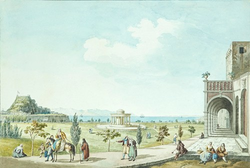 Joseph Cartwright - View of the Esplanade from the Giallina House