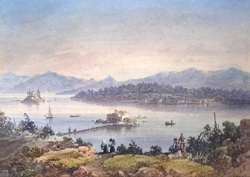 Joseph Schranz - Vlacherna and Pontikonisi, Corfu