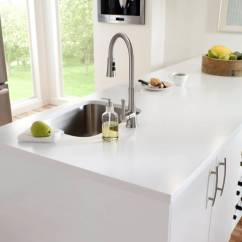 Farmhouse Kitchen Sinks Kohler Faucets - Dupont™ Corian® Solid Surfaces,