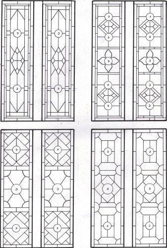 Coriander Stained Glass Design