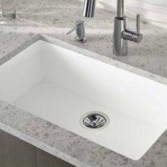 Corian Kitchen Sinks White Table Set 可丽耐 石英石 可丽耐石英石工作台面与可丽耐人造石水槽完美组合