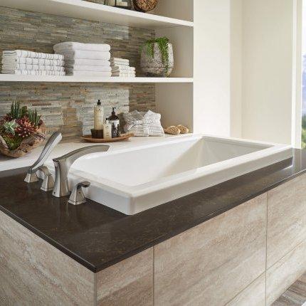 Bathroom  Corian quartz