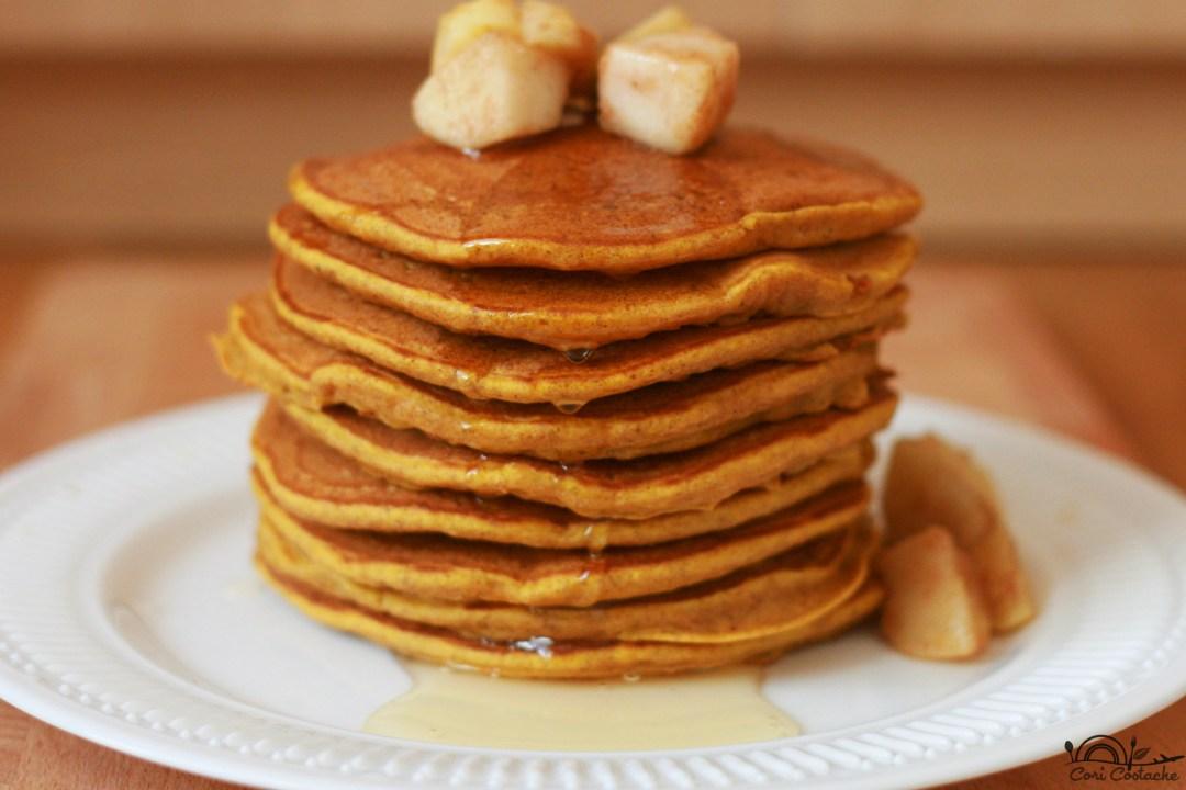 pumpkin-pancakes(clatite americane)
