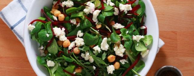 salata usoara cu vinegreta aromata