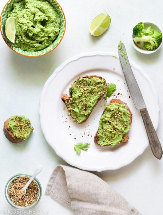 Breakfast Inspiration - Broccamole Toast With Dukkah