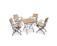Square Bistro Table and Chairs Set