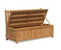 Windsor 5ft Teak Outdoor Storage Bench