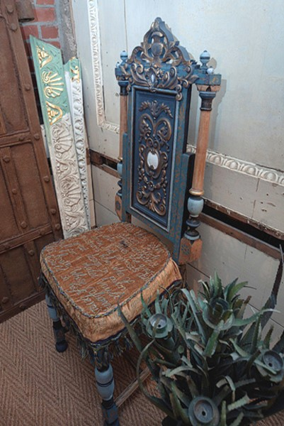 Master's Chair - A Safe Room, Burton Constable Hall