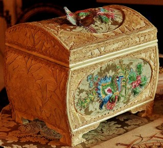 Golden Casket - 'A Safe Room', Burton Constable Hall