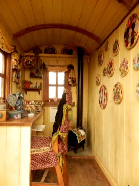 Shepherds Hut Interior - Grow Show, London