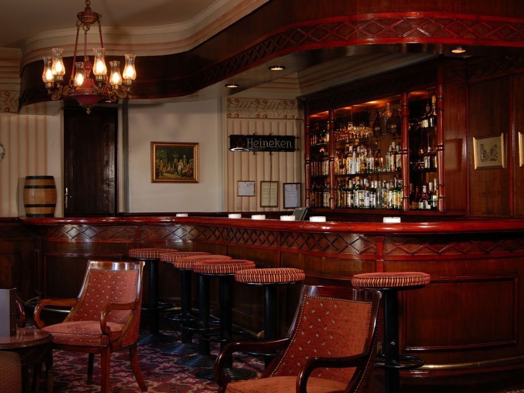 Monty Bar at the Cecil Hotel, Alexandria