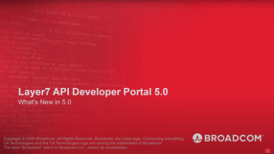 What's New in Layer7 API Developer Portal 5.0