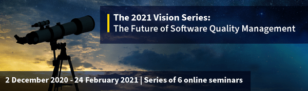 QA Financial 2021 Vision Series: The Future of Software Quality Management