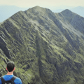 Cork Backpacker views splendid Carrauntoohil