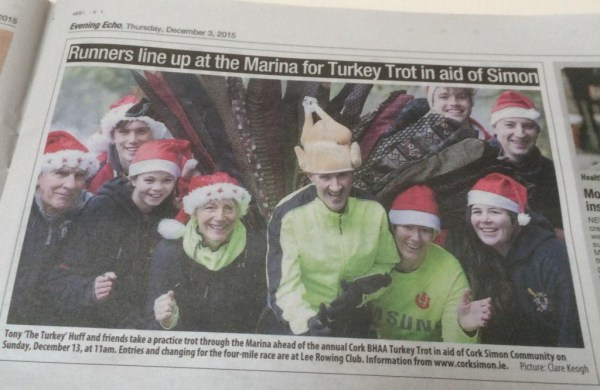 Simon Turkey Trot Evening Echo