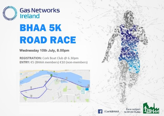 Cork BHAA Gas Networks Ireland 5k 2019