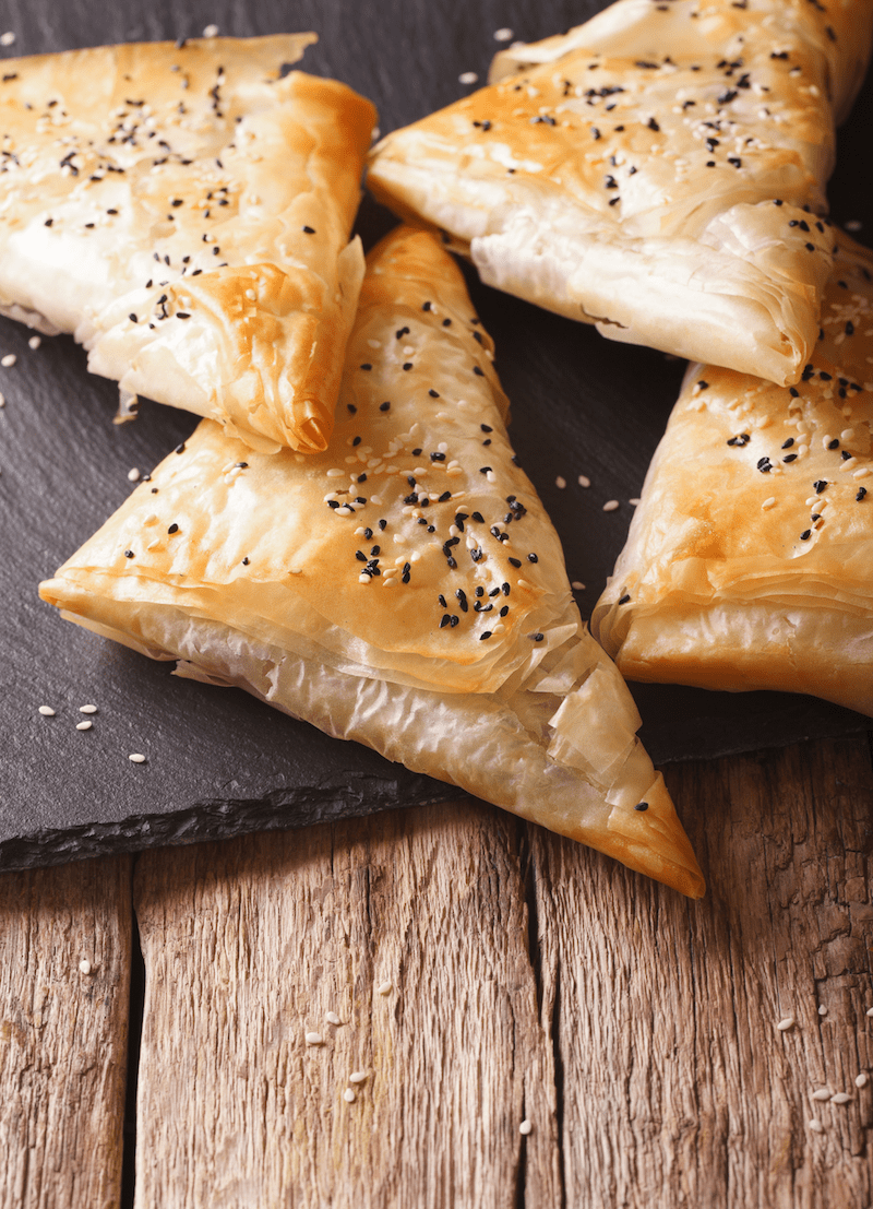 Feta Parcels with Honey and Lemon