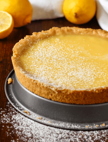 Coconut and lemon Tart