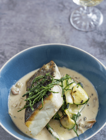 Roasted Hake and Samphire