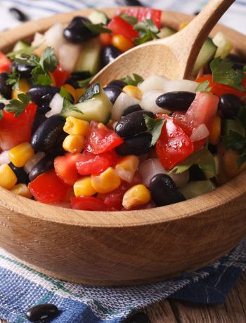 Black Bean, Avocado, Sweet Corn Salad