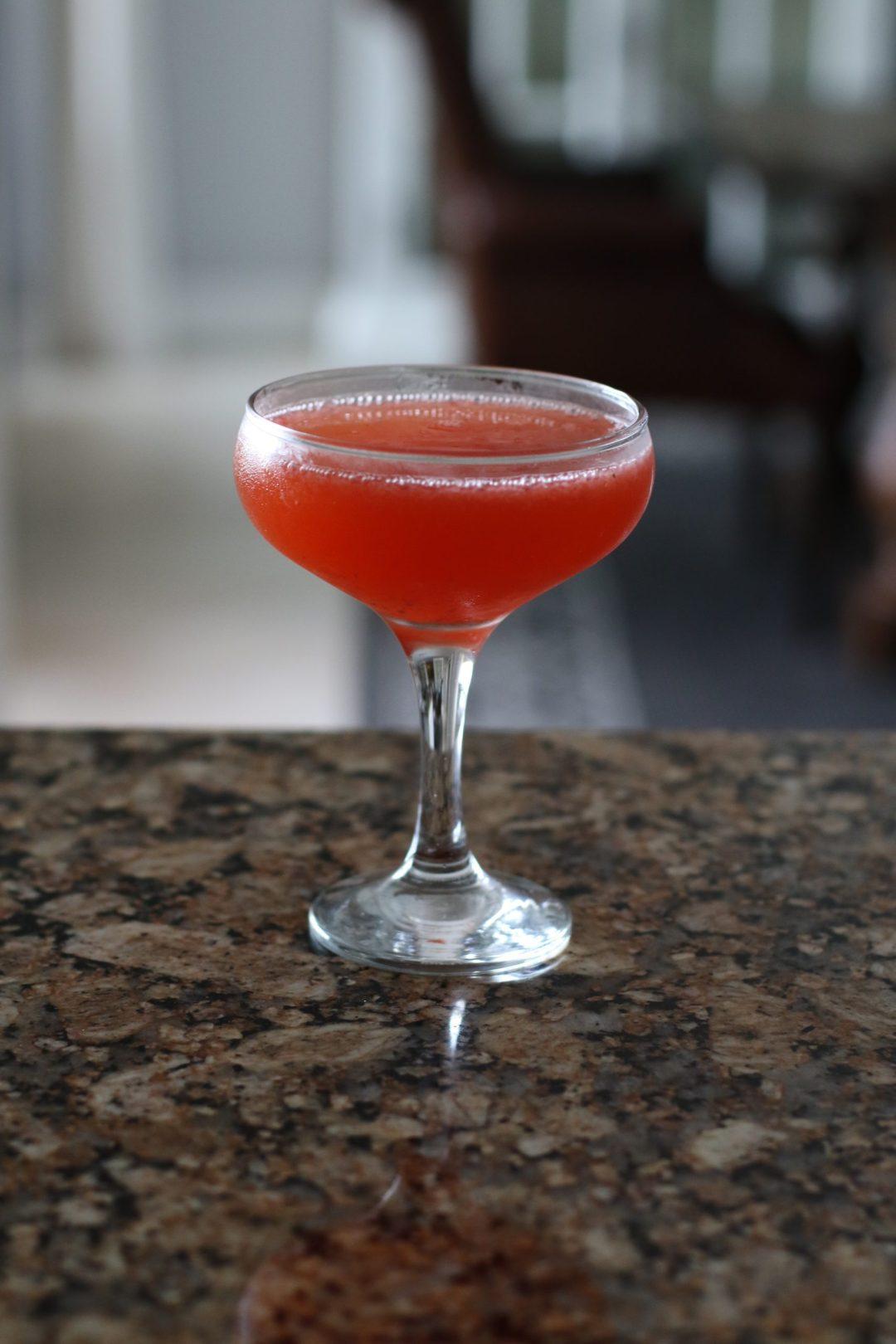 Florida Strawberry Cocktail