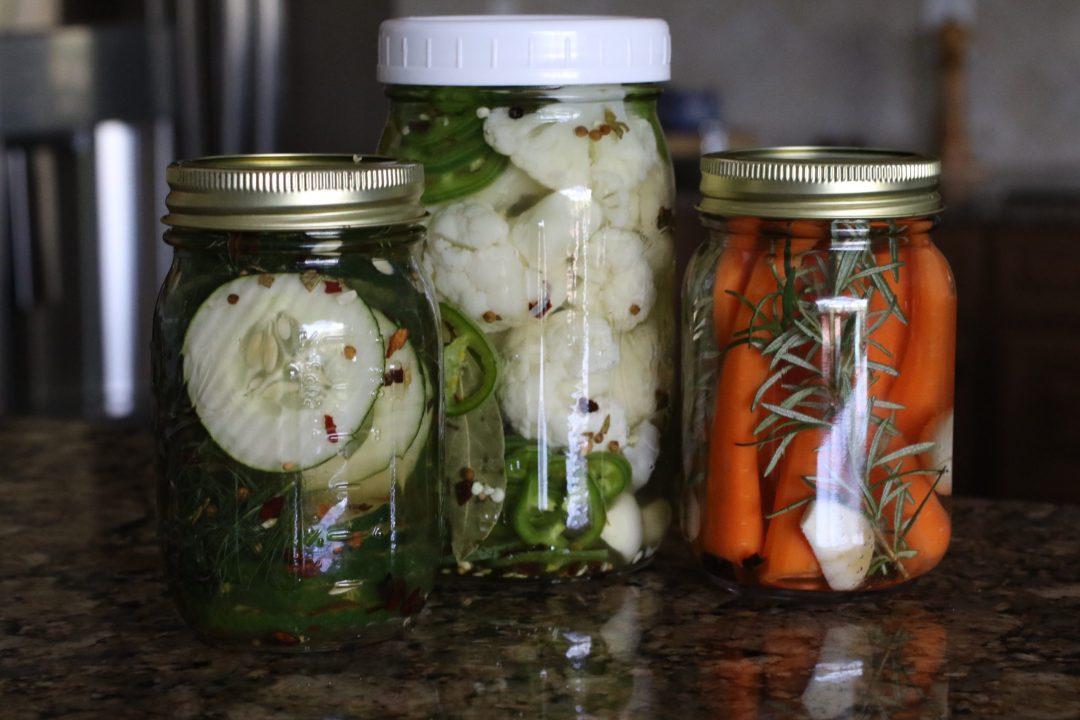 Trio of Pickled Things