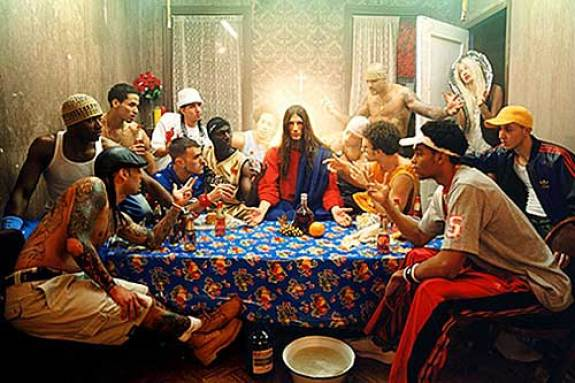 Image result for gang at the last supper