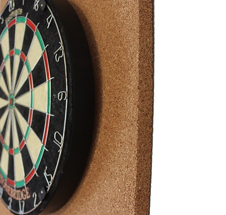 cork dartboard backer jelinek