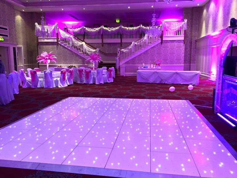 Wedding DJ Hire Cork  Wedding DJs Cork  LED Dance Floor