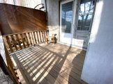 2nd floor wood deck terrace