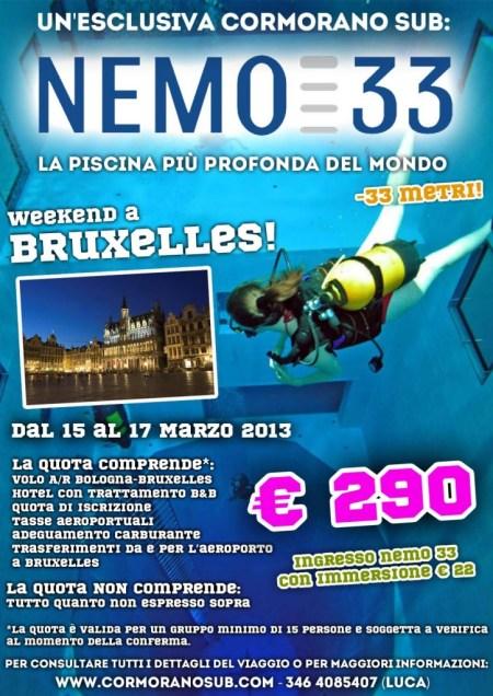Viaggio a Bruxelles con visita a Nemo33
