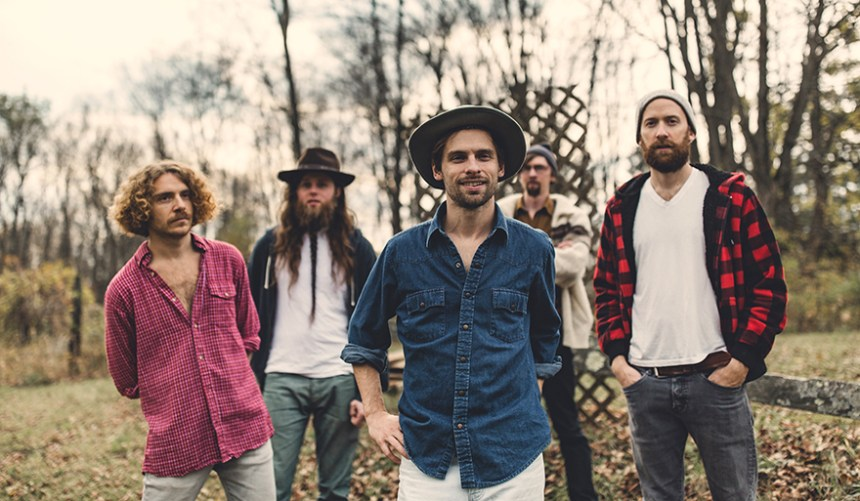 Parsonsfield releases their new EP, WE, March 9, 2018; photo courtesy Signature Sounds Recordings.