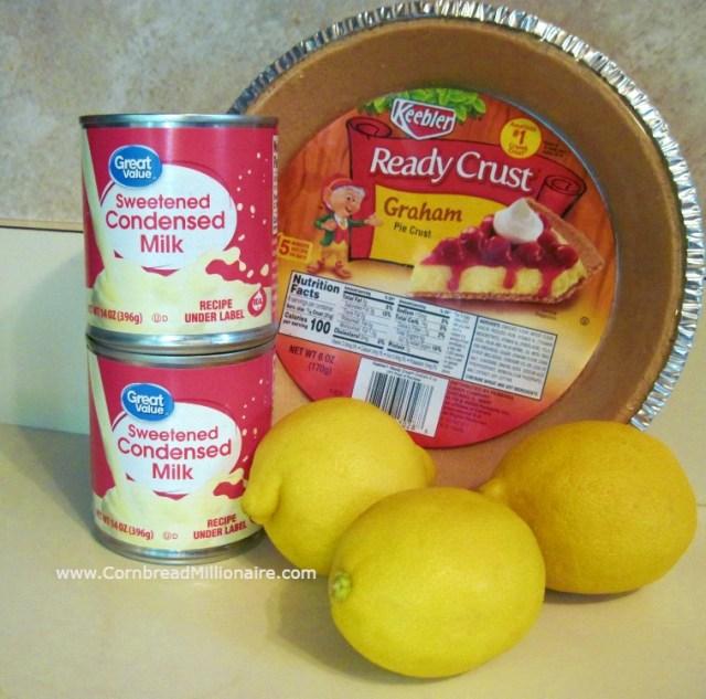 Lemon Icebox Pie Ingredients